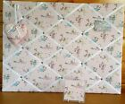 Cath Kidston Woodland Fairies Hand Made Notice Board, Coaster & Hanging Heart