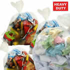 Clear Wheelie Bin Liners Strong Heavy Duty Rubbish Sack Big Refuse Bin Bags