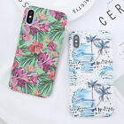 Shockproof Hard PC Case Pattern Back Phone Cover For Apple iPhone X 8 6s 7 Plus