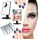 22 LED Light Touch Screen Makeup Mirror Cosmetic Vanity Lighted Magnification