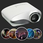 LED/LCD Projector HD 1080P HDMI Home Cinema USB/VGA For Iphone 5/6/7/8/X DVD AE