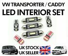 VW Caddy T5 T6 Transporter 2004-2018 White LED interior light conversion set
