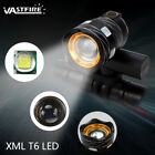 15000LM XM-L T6 LED Zoomable Front Bicycle USB Headlamp Bike Lights Rearlight