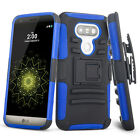 Heavy Hybrid Impact Rugged Rubber Hard Armor cell phone Case Cover for LG G5 H81