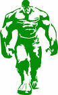 Hulk vinyl decal car bumper sticker marvel comic book superh