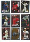 2014 TOPPS CHROME - STARS, ROOKIE RC'S #'S 1-220  - WHO DO YOU NEED!!!
