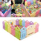 Baby Playpen Safety Panel Game Fence Toddler Play Yard Kids Activity Pens Random