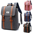 Bakku Vintage Canvas Laptop Backpack Knapsack Bag