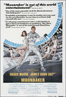 Moonraker Movie Poster Print - 1979 - Action - 1 Sheet Artwork - James Bond 007 £14.59 GBP on eBay