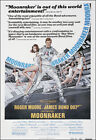Moonraker Movie Poster Print - 1979 - Action - 1 Sheet Artwork - James Bond 007 $16.36 USD on eBay