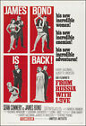 From Russia With Love Movie Poster Print 007 - 1963 - Action - 1 Sheet Artwork $32.58 CAD on eBay