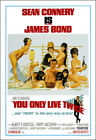 You Only Live Twice Movie Poster Print - 1967 - Action - 1 Sheet Artwork - 007 $28.15 CAD on eBay