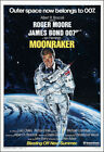 Moonraker Movie Poster Print - 1979 - Action - 1 Sheet Artwork - James Bond 007 $21.67 CAD on eBay