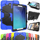 """Hybrid Shockproof Rugged Rubber Stand Case For Samsung Galaxy Tab E 8"""" 8.0 T377"""