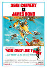 You Only Live Twice Movie Poster Print - 1967 - Action - 1 Sheet Artwork - 007 $21.72 CAD on eBay