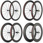 700C Clincher Carbon Road Bike Wheelset R13 Hub Carbon Wheels Basalt Brake Line