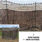 Nitehawk Camo Hunting/Shooting Blind Screen Net Hide With Clear View Top