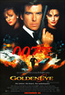 Goldeneye Movie Poster Print - 1995 - Action - 1 Sheet Artwork - James Bond 007 $29.94 CAD on eBay