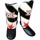 'S&S' LIGHTWEIGHT DENSE PADDED SHIN PROTECTION MUAY THAI KICKBOXING