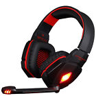 Hot EACH G4000 Gaming Headset LED USB+ 3.5mm Stereo Headphone with Mic for PC