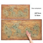 old style poster - The old World Map large Vintage Style Retro Paper Poster Home decor QW