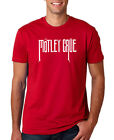 MOTLEY CRUE RED MENS T SHIRT MUSIC ROCK PUNK RETRO POP 80s GIFT TOUR TOMMY