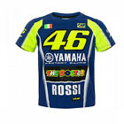 Valentino Rossi VR46 Moto GP M1 Yamaha Racing Team Kinder T-shirt Offiziell 2018