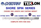 GRAUVELL TEKLON SHORE SPIN ROD FOR SEA FISHING LURE SPINNING SOFT BAIT SHADS LRF