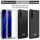 For Huawei P20 Pro Lite IMAK Flexible Slim Soft TPU Cover Case +Screen Protector