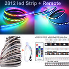 WS2812B IC Magic RGB 5050 LED Strip +14KEYS Remote 30/60/144LED/M DC 5V Kits