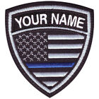 THIN BLUE LINE USA CUSTOM CREST EMBROIDERED PATCH