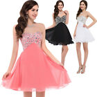 Dress Evening Prom Cocktail Gowns Formal Karin Party Mini Wedding Beaded Short