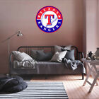 Texas Rangers MLB Team Logo Color Printed Decal Sticker Car Window Wall on Ebay