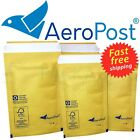 Gold Mailing Padded Postal Bags AP2 - 120 x 215mm Bubble Envelopes Mailers
