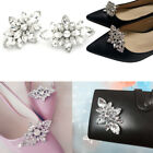 Crystal Diamond Shoes Clips DIY Shoes Flower Charms Bridal Wedding Shoe Clips UK