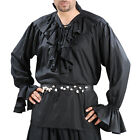 Pirate's Renaissance Shirt Captain Larp Costume Fair Theater Quality Medieval