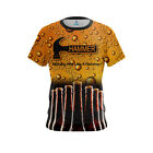 Hammer Womens Dye Sub Beer CoolWick Performance Crew Bowling Shirt