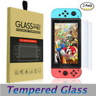 2 Pack For Nintendo Switch Ultra Clear Premium Tempered Glass Screen Protector