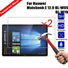 2X9H Tempered Glass Screen Film For Huawei Matebook E 12.0 BL-W09/ M5 M5 Pro/T2P