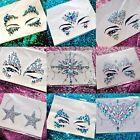 Face Jewel & Gems Festival Makeup Body Tattoo Party & 5g Cosmetic Chunky Glitter