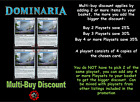 MTG Dominaria DOM Choose your Uncommon Playset (x 4 cards) Pre-Order 27 Apr 2018