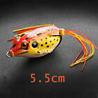 Large Fishing Lures Large Frog Hooks Water Tackle Bass Bait Tools Supply New