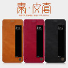 Original Nillkin Luxury PU Leather Flip Smart View Case Cover For Huawei P20 Pro