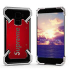 Shockproof Slim Aluminum Metal Bumper Phone Case Cover For Samsung iPhone X