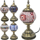 19CM MOSAIC TABLE LAMP GLOBE HANDMADE GLASS MOROCCAN TURKISH HOME DECOR BEDROOM