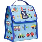 Wildkin Olive Kids Trains/Planes/Trucks Munch N Lunch Bag