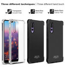 IMAK Flexible Slim Soft TPU Cover Case +Screen Protector For Huawei P20 Pro Lite