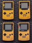 Game Boy Color Pokemon LIMITED EDITION System-Black Buttons-You Pick Screen Lens