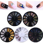 BORN PRETTY 3D Nail Art Decoration Wheel Chameleon Gradient Rhinestones Studs