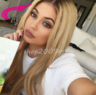 Straight Pre Plucked Lace Front Hair Wigs Baby Hair Ombre Glueless Brazilian Wig